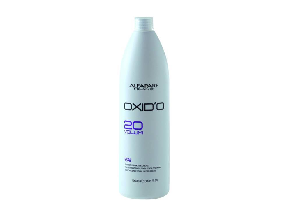 Alfaparf Oxid'O H202 Oxigenada Estabilizada Cremosa  20Vol 1L