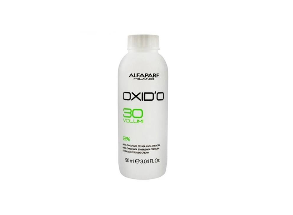 Alfaparf Oxid'O H202 Oxigenada Estabilizada Cremosa  30Vol 90ml