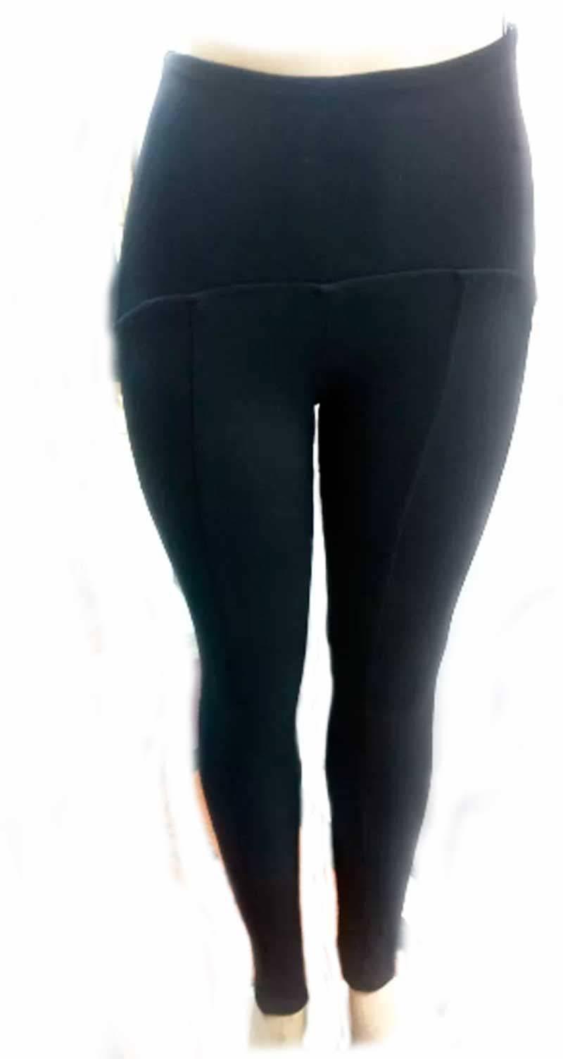 Calça Legging Feminina Skinny Cintura Alta Montaria Grossa