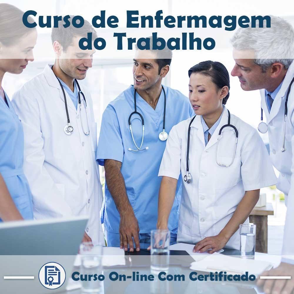 Curso Online em videoaula de Enfermagem do Trabalho com Certificado