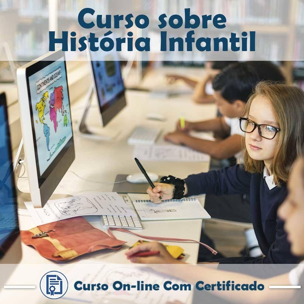 Curso online em videoaula de História - Infantil com Certificado