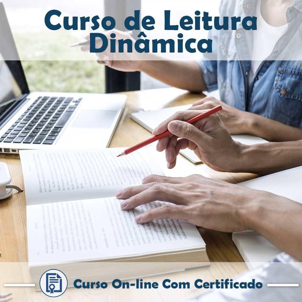 Curso Online em videoaula de Leitura Dinâmica com Certificado