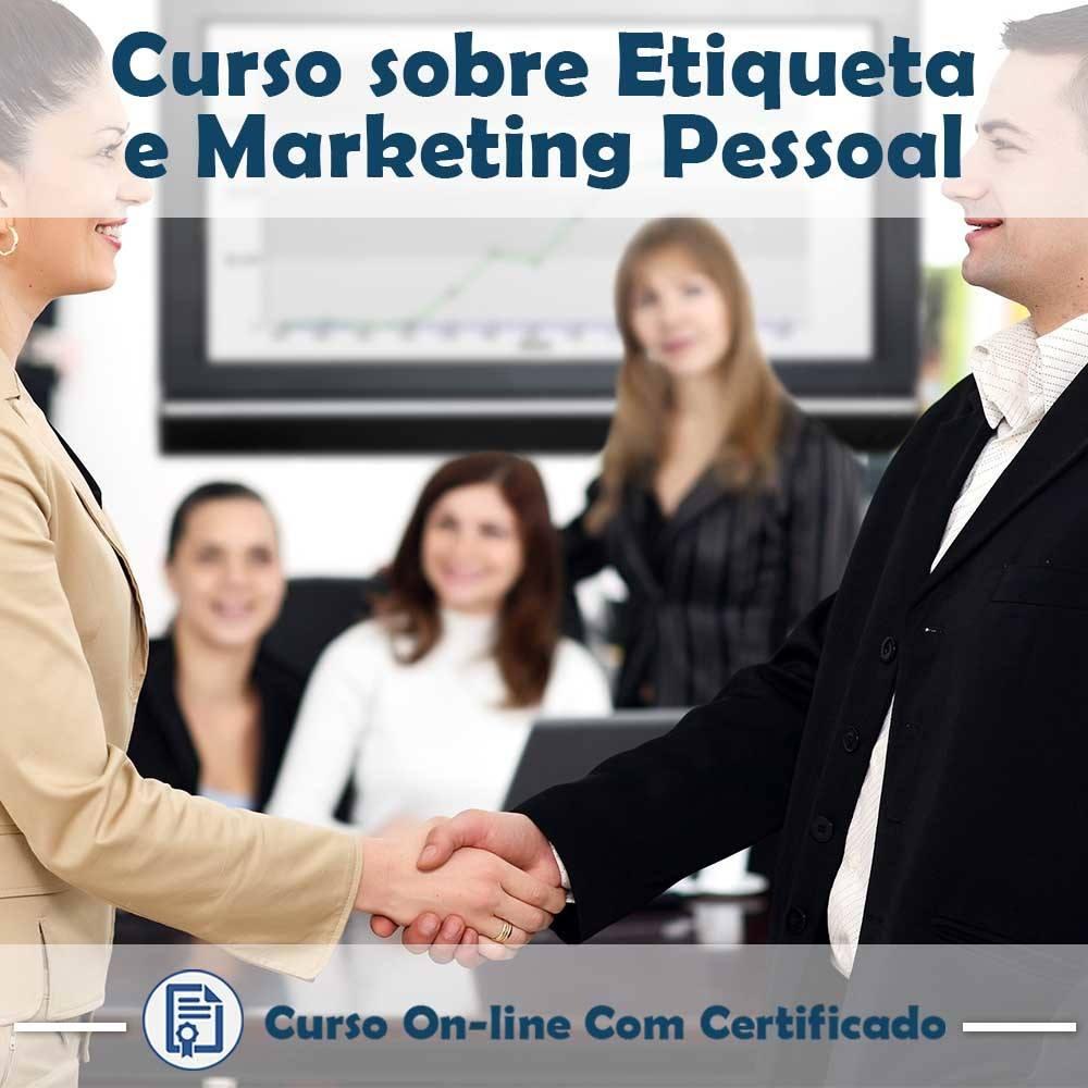 Curso online em videoaula sobre Etiqueta e Marketing Pessoal com Certificado