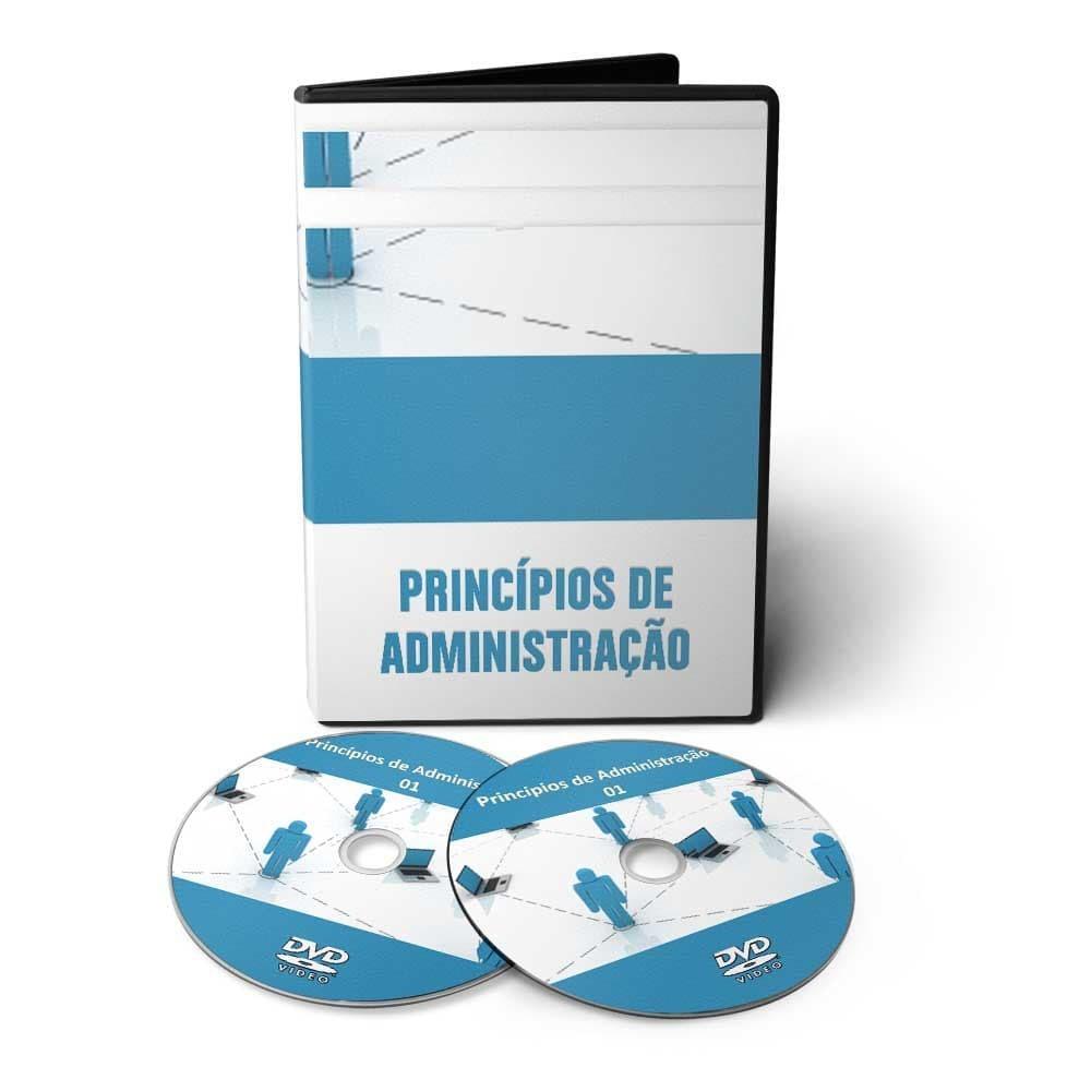 Curso Princípios de Administração em 02 DVDs Videoaula