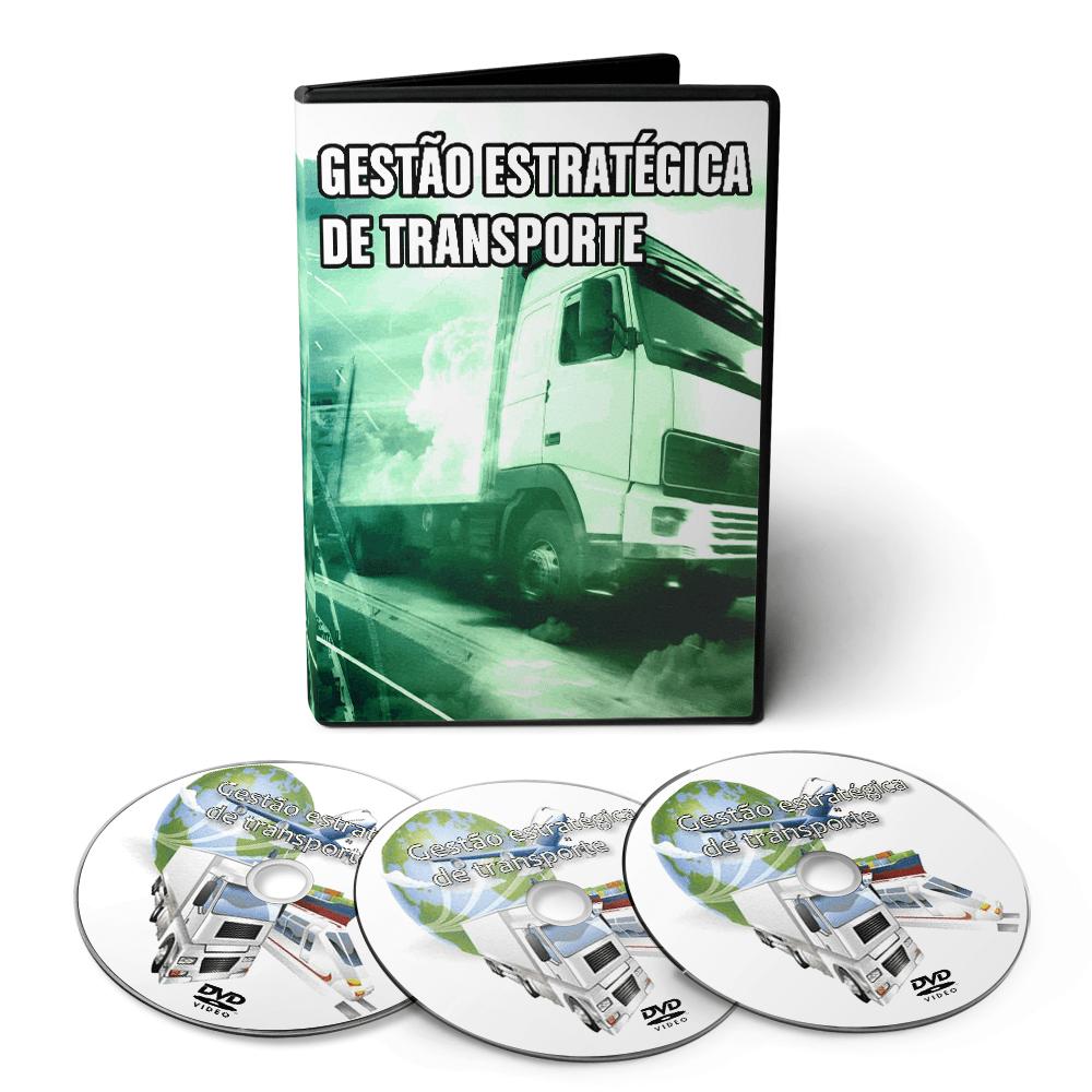 Curso sobre Gestão Estratégica de Transportes e Distribuição em 03 DVDs Videoaula