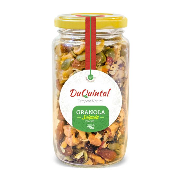 GRANOLA SALGADA LOW CARB 180G