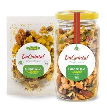 GRANOLA SALGADA LOW CARB 40G - SNACK