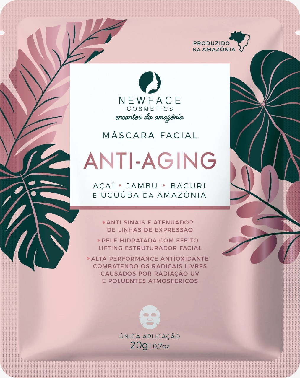 Máscara Facial Anti-Aging -  New Face Cosmetics