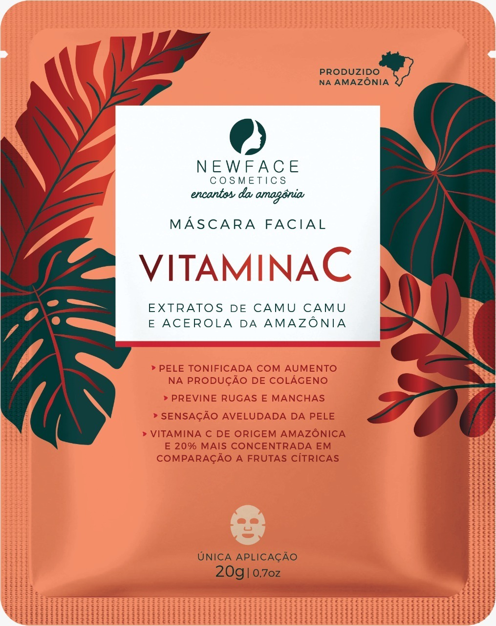 Máscara Facial Vitamina C