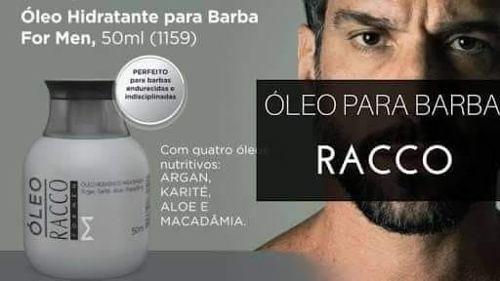 Para Homens Oleo Hidratante Para Barba E Shampoo Racco