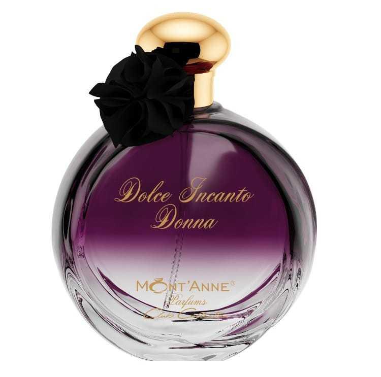 Perfume Feminino Dolce Incanto Donna EDP Fragrância Floral Frutado Gourmet 100ml Mont'Anne