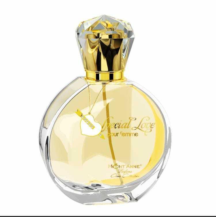 Perfume Feminino Special Love EDP Fragrância Bouquet Floral 100ml Mont'Anne
