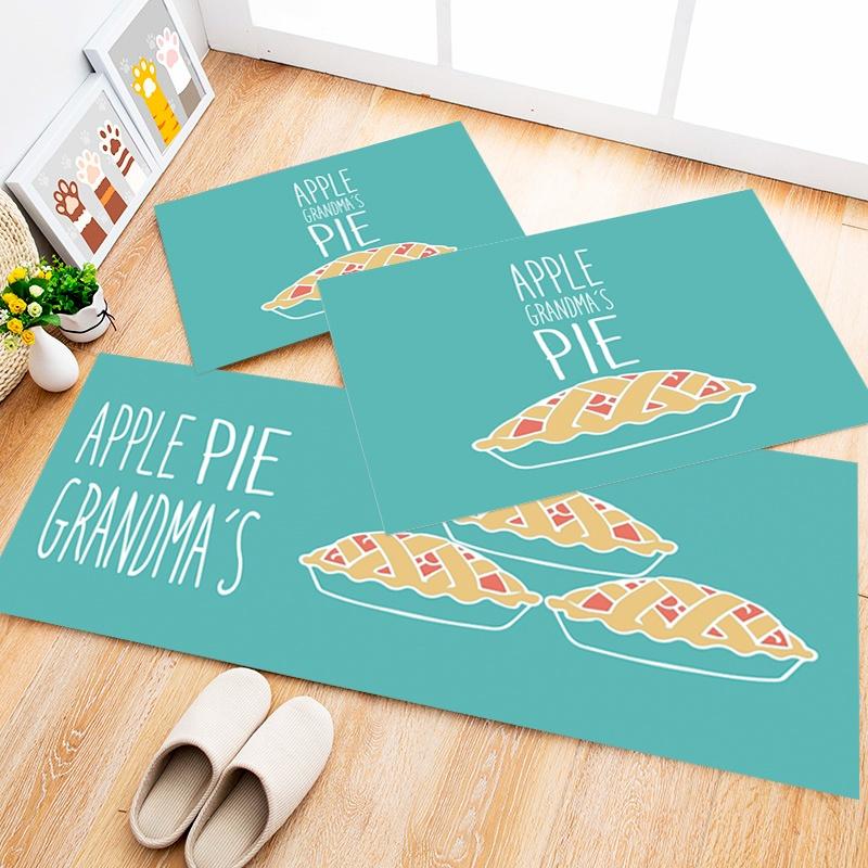 Tapete Cozinha Apple Pie, 3 pçs - 40x120cm