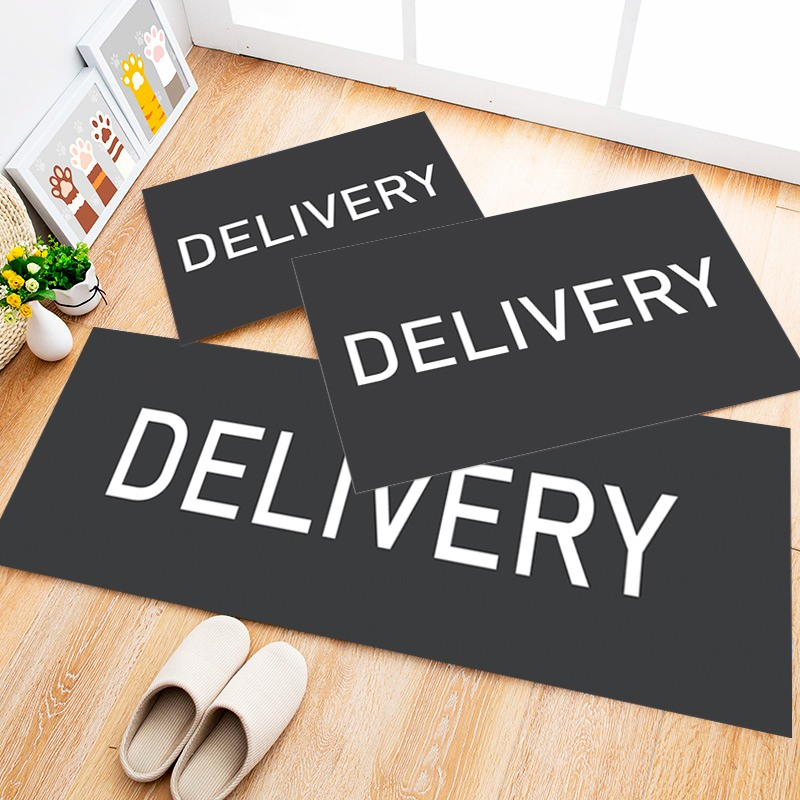 Tapete Cozinha Delivery, 3 pçs - 40x120cm
