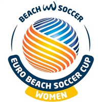 2020 Euro Beach Soccer Cup Women Logo