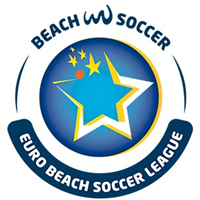 2020 Euro Beach Soccer League Logo