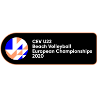2020 U22 Beach Volleyball European Championship Logo