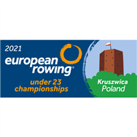 2021 European Rowing U23 Championships Logo