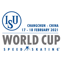 2021 Speed Skating World Cup Logo