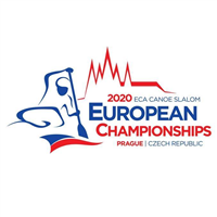 2020 European Canoe Slalom Championships Logo