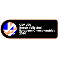 2020 U20 Beach Volleyball European Championship Logo