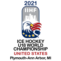 2021 Ice Hockey U18 World Championship Logo
