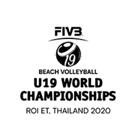 2020 U19 Beach Volleyball World Championships Logo