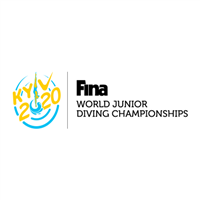 2020 FINA World Junior Diving Championships Logo