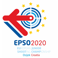 2020 European Shooting Championship Juniors Logo
