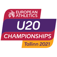 2021 European Athletics U20 Championships Logo