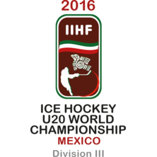 2016 Ice Hockey U20 World Championship - Division III