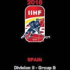 2016 Ice Hockey U18 World Championship - Division II B