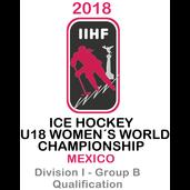 2018 Ice Hockey U18 Women's World Championship - Division I B Qualification