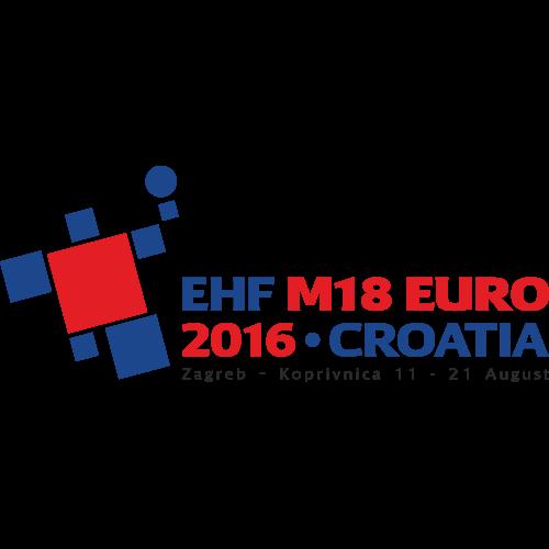 2016 European Handball Men's 18 EHF EURO
