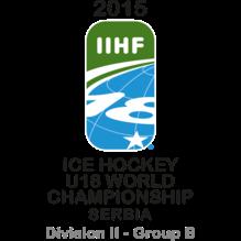 2015 Ice Hockey U18 World Championship - Division II B