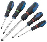 5 Piece Soft Grip Screwdriver Set