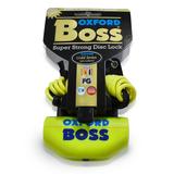 Oxford Boss Disc Padlock Yellow