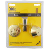 Yale P5211 Sec Mort Deadbolt 60mm VP PB