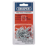 Draper 2.4 X 7mm Rivets 50pk