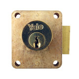 Yale 076S Straight Cylinder Cupboard Lock