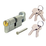 VERSA Dual Finish 6-Pin Key & Turn Euro Cylinder