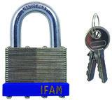 Ifam Laminated Padlock Standard Shackle