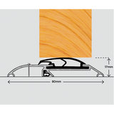 Exitex ERD Rain Deflector - Weather bar suitable for a range of inward and outward doors. Commonly used on timber doors