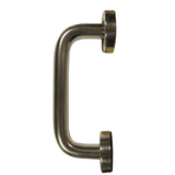 D Shaped Pull Handles Concealed Fixing