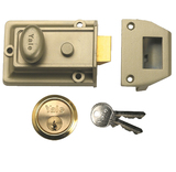Yale 77 Traditional Nightlatch (60mm Backset)