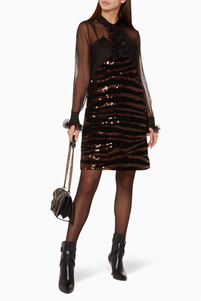 فستان سهرة قصير، اجمل فساتين السهرات القصيرة.