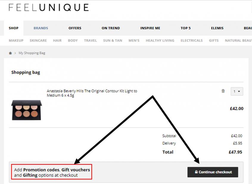 كيف استخدم كود خصم فيل يونيك كوبون Feelunique Promo Code Coupon