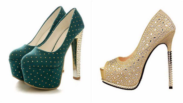 احذية كعب عالي للسهرات