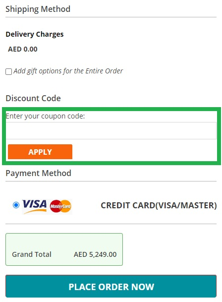 How to use Menakart UAE & KSA online coupon codes?