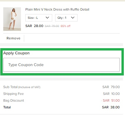 How to use Styli Shop Coupon Codes and Offers for Styli Shop KSA Online Store?